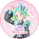 「プリティーオールフレンズ MY☆DREAM」虹色にの キャラクターケーキ5号