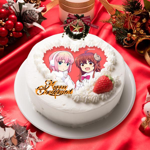 2020クリスマスケーキ<まちカドまぞく>