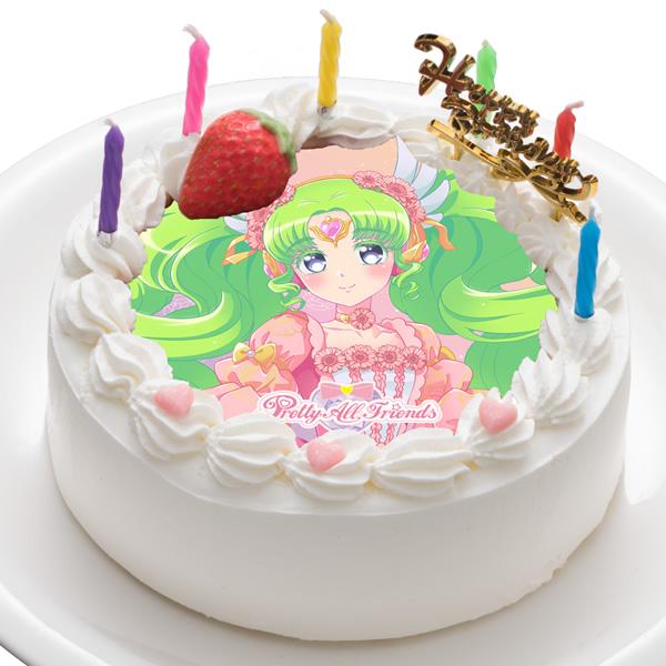 「プリティーオールフレンズ」ファルル キャラクターケーキ5号