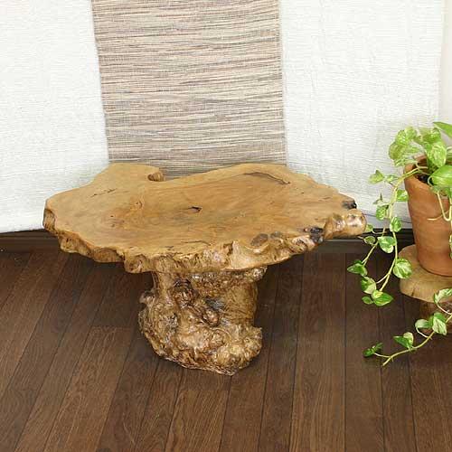 バリ島から素敵な1枚板の天板【プルメリアのミニテーブル】