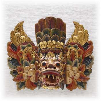 木彫りのマスク・バロン