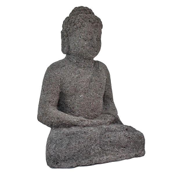 仏像彫刻 お釈迦様 ブッダ(仏陀)の石の置物 瞑想