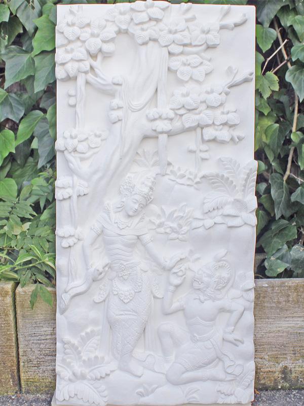 特大彫刻・バリレリーフ ラーマーヤナ 3