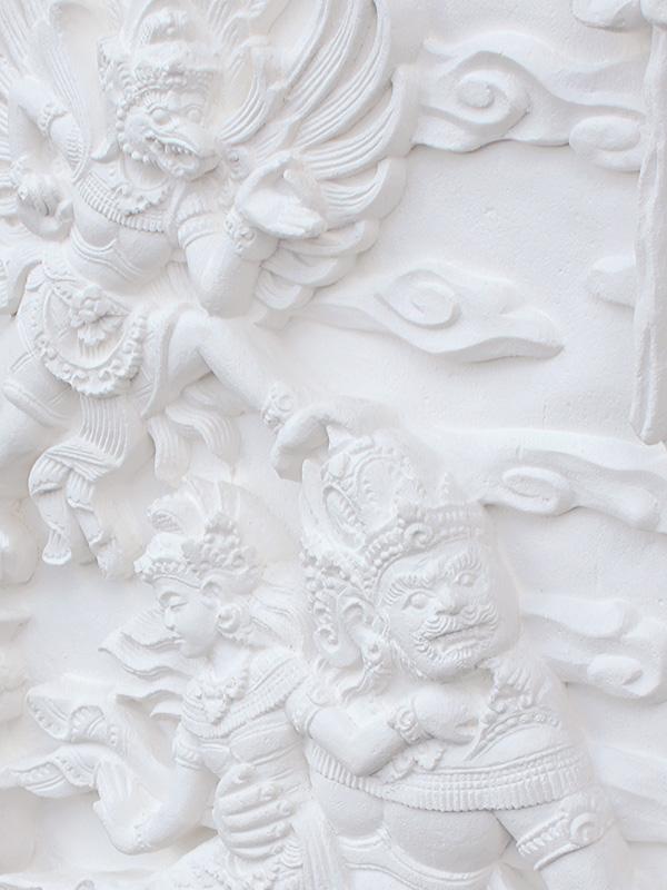 特大彫刻・バリレリーフ ラーマーヤナ 4
