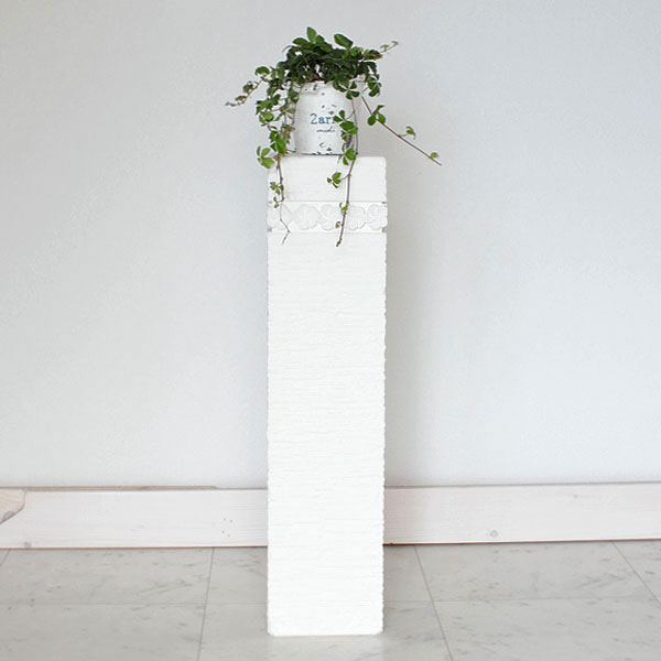 石像スタンド 花台 60S プルメリア フラワースタンド