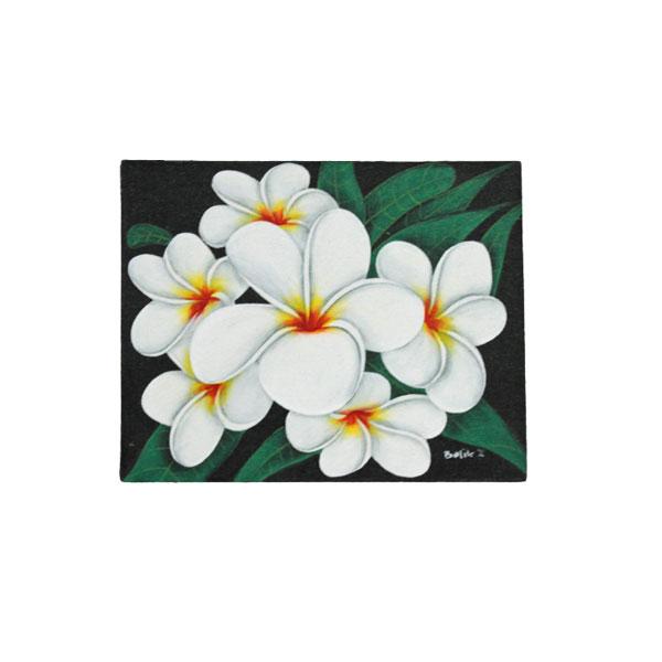 プルメリアの花の絵画1