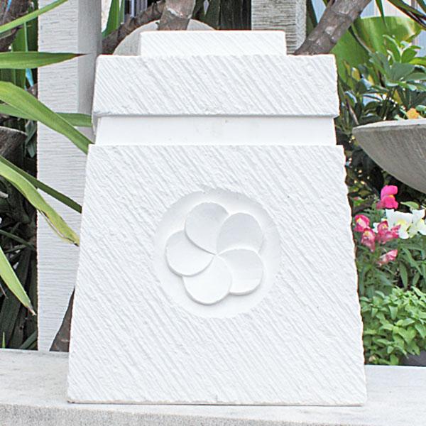 おしゃれな花台 バリ傘リゾートスタンドミニ プルメリア
