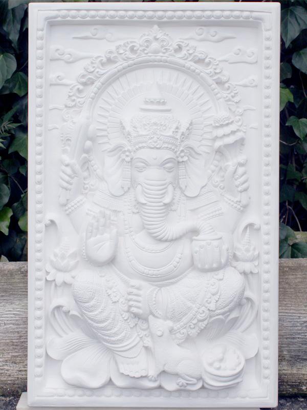 特大彫刻・歓喜天 ガネーシャレリーフ