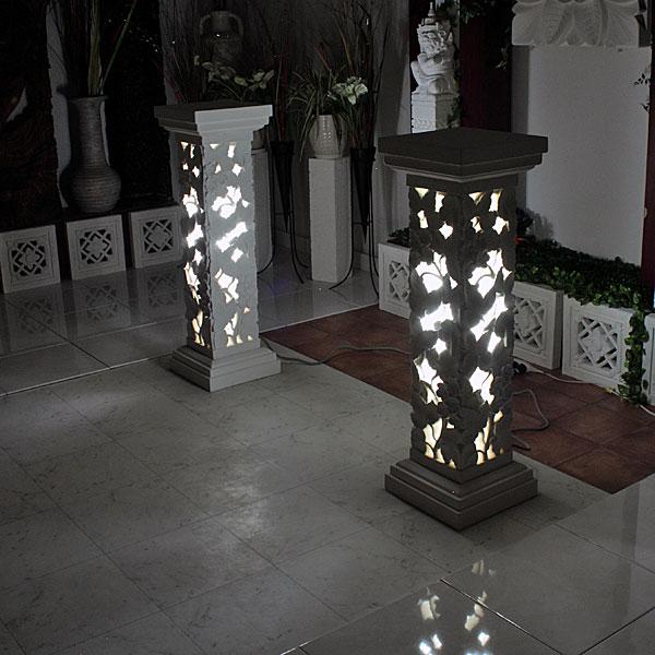 ストーンライト照明 アジアンリゾート100