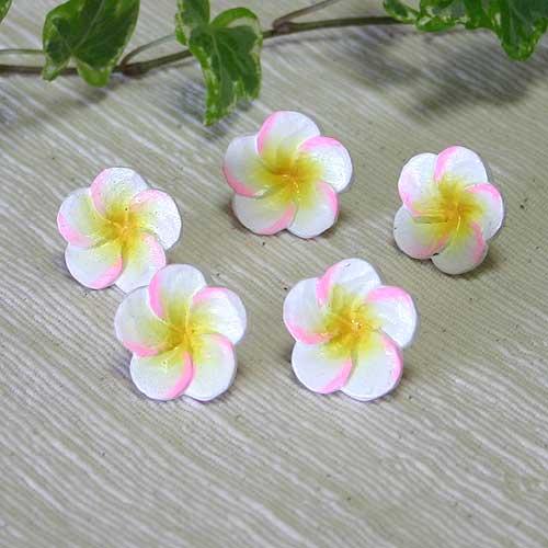 プルメリアの花*ミニ*ピンクor水色