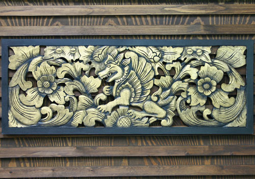 素敵な壁掛けレリーフ・シンガ
