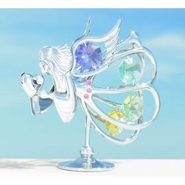 誕生日プレゼント/スワロフスキー/天使とハートの置物5