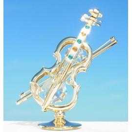 誕生日プレゼント/スワロフスキー/バイオリンの置物
