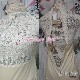 結婚式 オールインワン 黒 オフ白 S-XL 一部即納 パンツドレス 襟ビジュー フェイクパール レース シースルー ホルターネック 背中開き オフホワイト 無地 2161366