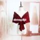 【即納】 結婚式 ボレロ 赤 黒 紺 白 ラメ 上品 パーティードレスのショール風カーディガン F YJ-33986 ストール 大人可愛い デートコーデ
