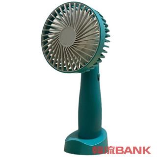 ハンディファン 扇風機 バンドファン 緑色(グリーン) (Portable USB handy fan)