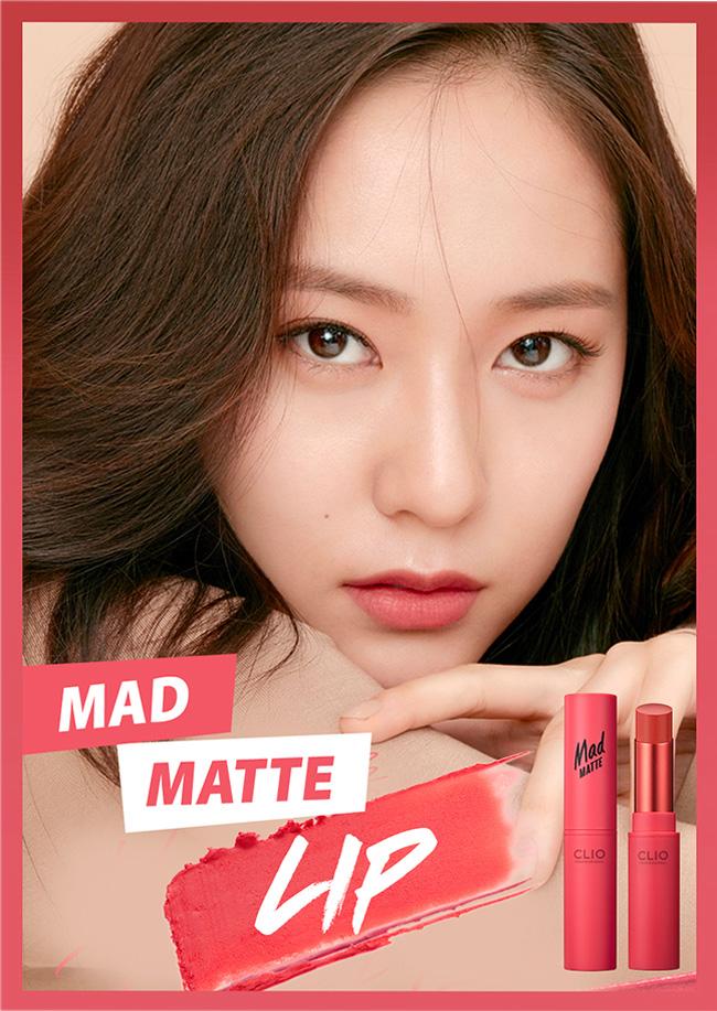 【送料無料・速達・代引不可】 クリオ (CLIO) MAD MATTE LIPS マッド マット リップ 06号 韓国コスメ