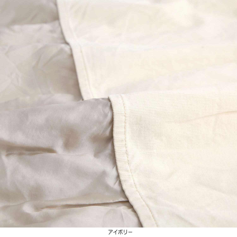 コーデュロイレイヤードシャツ