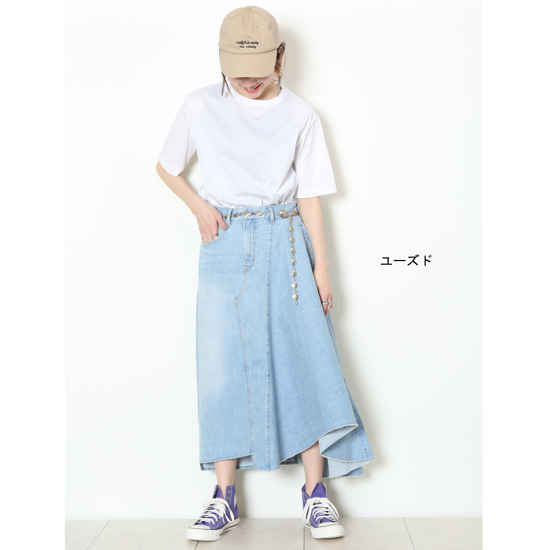 タイト×フレアMIXスカート