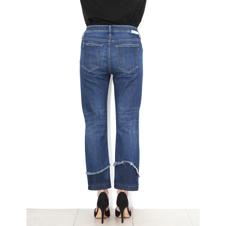 裾リメイクジーンズ