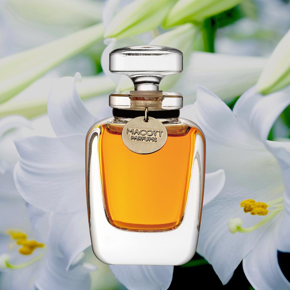 ホワイトブーケ(パルファム)フラコンボトル30ml/MACOTT 限定熟成香水