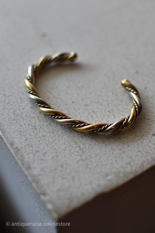 バングル silver&gold
