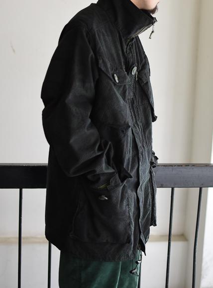 イギリス軍迷彩ジャケット british army coam jacket overdye black