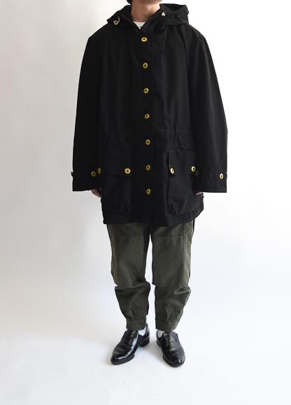 スウェーデン軍スノーパーカ 1970s swedish military snow parka overdye black