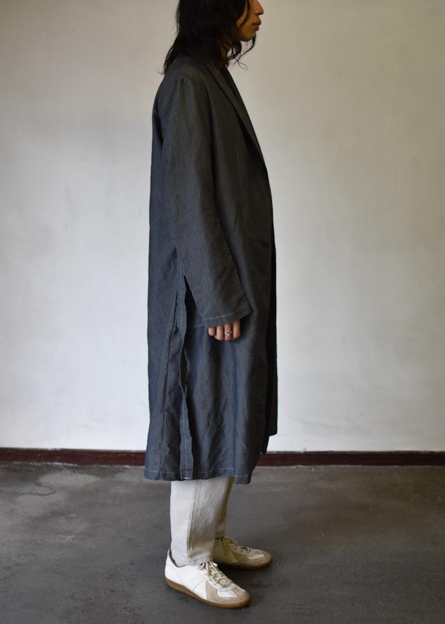 アメリカ軍 ホスピタルガウン 後染め 黒 u.s army hospital gown dyed black