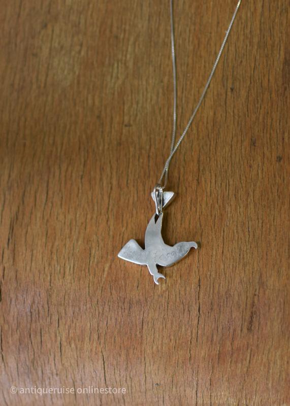 ズニ族ネックレス  zuni american condor necklace
