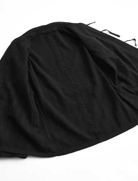 ブルガリア軍パジャマセット military pajama set overdye black