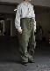 アメリカ軍スノーパンツ 1980 us army snow camo pants overdye green