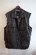 リアルレザーオーバーベスト real leather vest