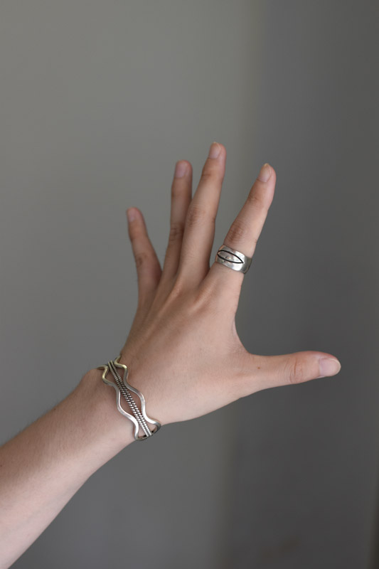 ナバホシルバーリング navajo silver ring