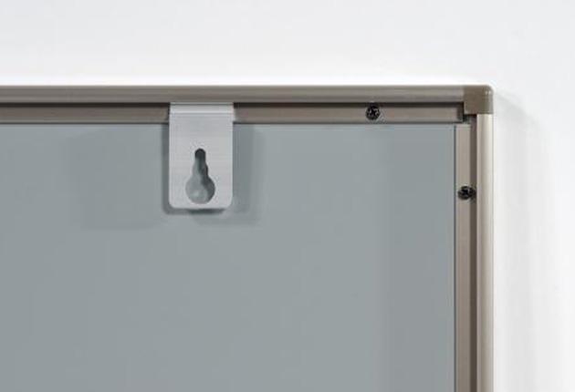 黒板 壁掛けタイプ(W900×H600)スチール黒板(アルミ枠)