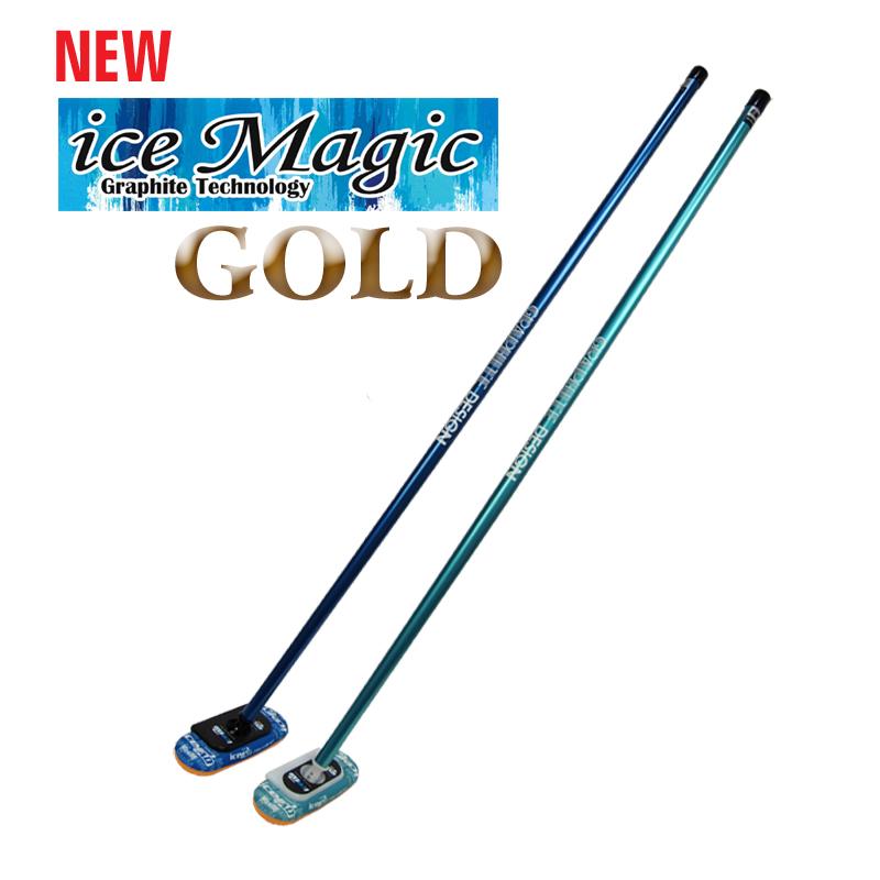 GRAPHITE DESIGN グラファイトデザイン ice Magic GOLD ハンドルブラシ icePadヘッド