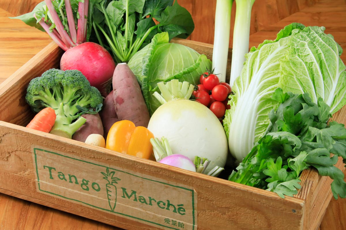 農家応援!丹後産 旬の野菜・果物たっぷりセット【8kg以上保証(7〜8種入)/ 訳あり】