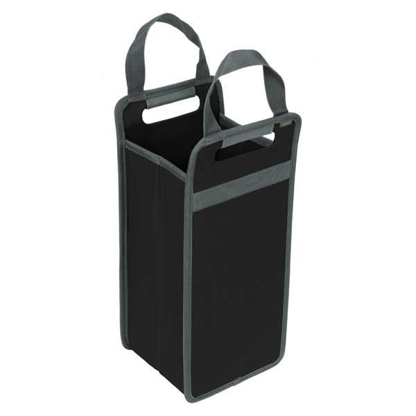 meori ワイントートバッグ 2本用 ラバブラック