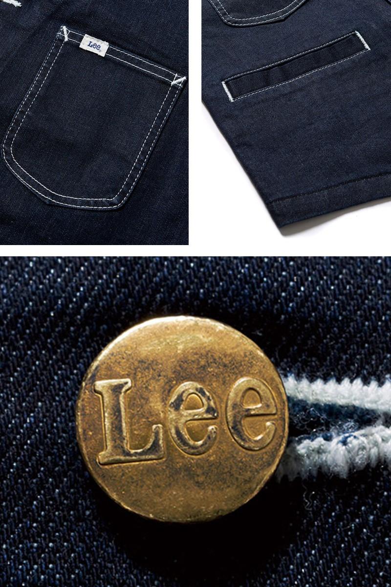 Lee (リー) デニムベスト ユニセックス APLCV19002 送料無料