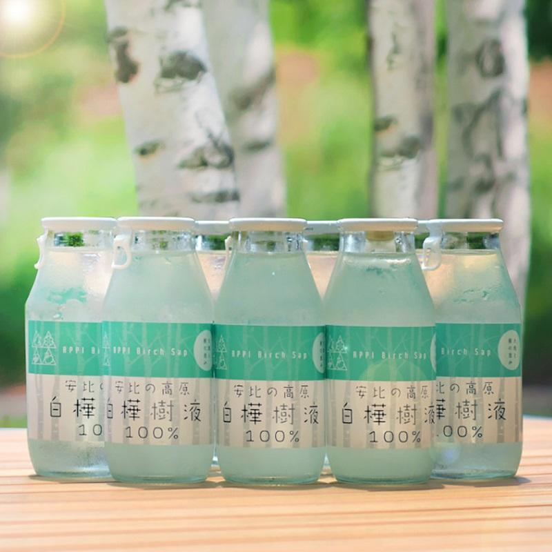 安比の高原 白樺樹液100%ドリンク 30本セット
