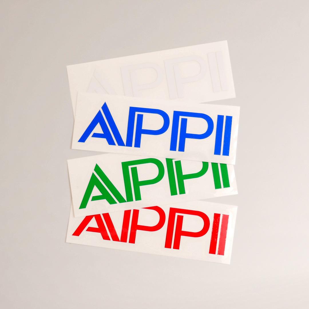 APPI 転写ステッカー