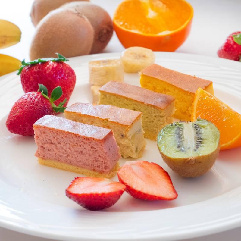 安比高原フルーツチーズケーキ 4本セット