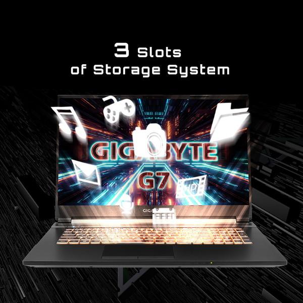 17.3インチ / Core i7 10870H / RTX 3060 / メモリ 16GB / SSD 512GB / Win10 Home / GIGABYTE ギガバイト ゲーミングノートパソコン GIGABYTE G7 KC-8JP1130SH