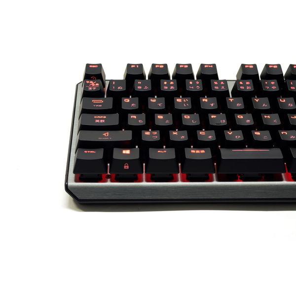 MSI ゲーミングキーボード VIGOR GK60 CR JP CHERRY MX 赤軸 日本語配列109キー メカニカル USB[GK60CRJPGAMING]