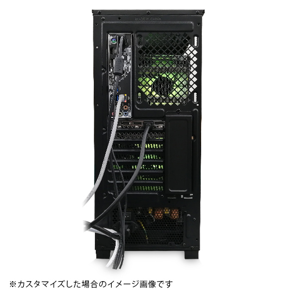 (Core i9-10900/メモリ:DDR4 8GB(8GBx1)/SSD:240GB/HDD:-/電源:650W 80PLUS BRONZE/グラボ:-) Barikata-337508  カスタマイズ可能 BTOパソコン Barikata 55V3