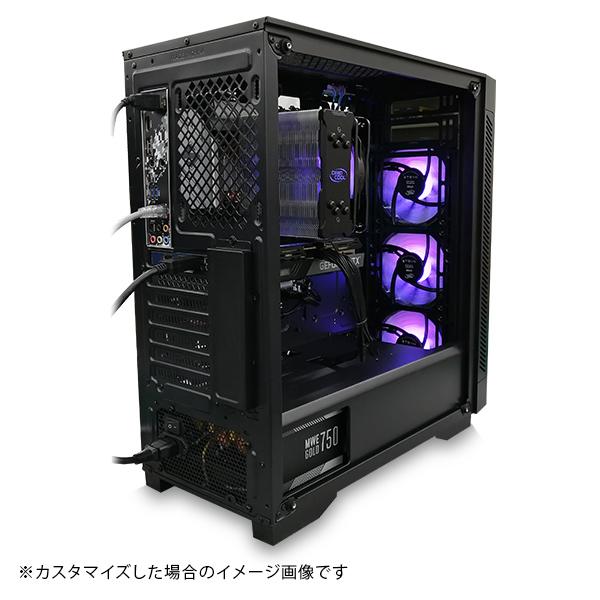 (Ryzen7 5800X/メモリ:DDR4 8GB(8GBx1)/SSD:240GB/HDD:-/電源:650W 80PLUS BRONZE/グラボ:GT710) Barikata-337510  カスタマイズ可能 BTOパソコン Barikata 55V3