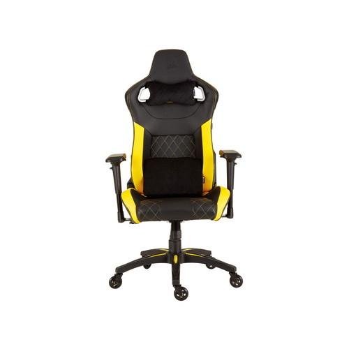 CORSAIR ゲーミングチェア T1 RACE Black/Yellow (CF-9010015-WW) お取り寄せ 代引き不可