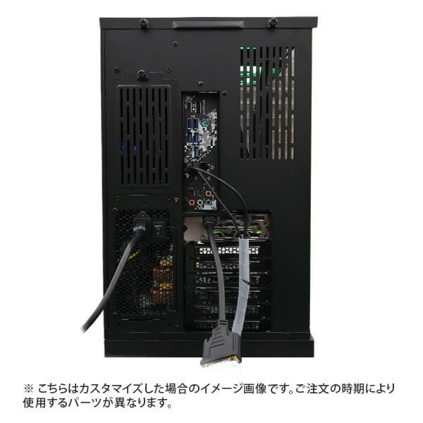 (Ryzen7 5800X/メモリ:DDR4 ARGB 16GB(8GBx2)/SSD:500GB NVMe/HDD:-/電源:750W 80PLUS GOLD/グラボ:GT710) Harigane-343116 カスタマイズ可能 BTOパソコン Harigane Gaming ゲーミングPC RAZER