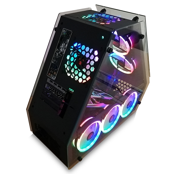 【WAR BEASTシリーズ!!】(Corei7 11700/メモリ:DDR4 16GB ARGB/SSD:1TB NVMe/HDD:-/電源:750W 80PLUS GOLD/グラボ:GTX1660Super) ONIGIRI BG-I711700AS1N1000MNVM ゲーミングPC BTOパソコン