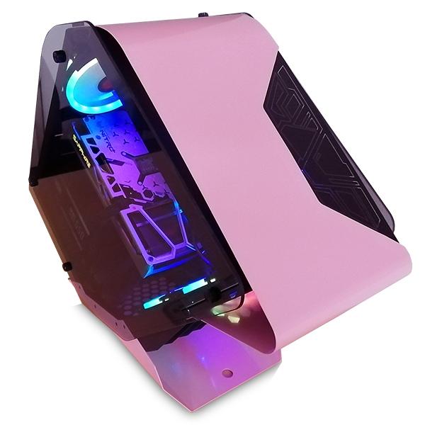 【WAR BEASTシリーズ!!】(Corei5 11400/メモリ:DDR4 16GB ARGB/SSD:500GB NVMe/HDD:-/電源:750W 80PLUS GOLD/グラボ:GTX1660Super) PENGUIN BG-I511400A1N512MNVM ゲーミングPC ピンク BTOパソコン